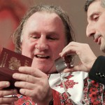 Russian passport for Depardieu