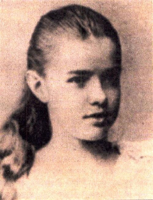 Ekaterina Desnitskaya Princess of Siam