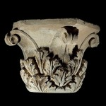 the Limestone Cap columns of Ah-Hanuma. Corinthian style, up to 145 BC.
