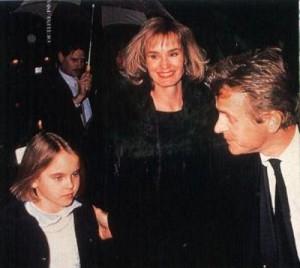 Mikhail Baryshnikov, Jessica Lange and Alexandra