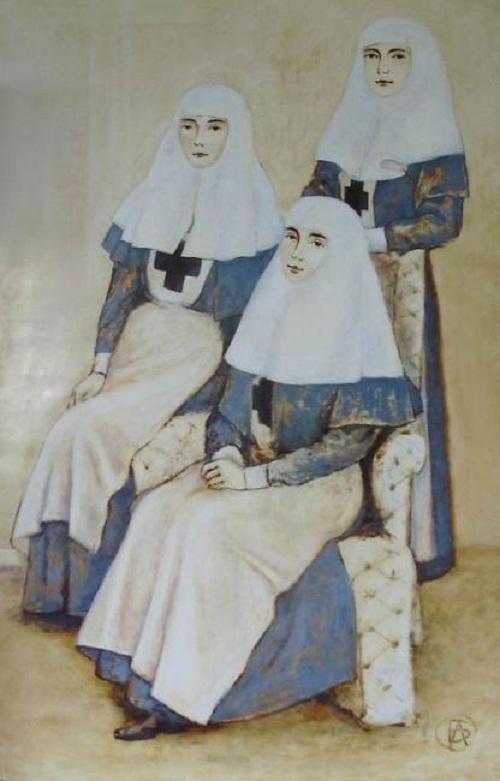 Sisters of mercy. Olga Lavrova