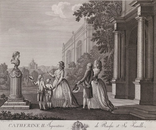 Catherine the Great and her men