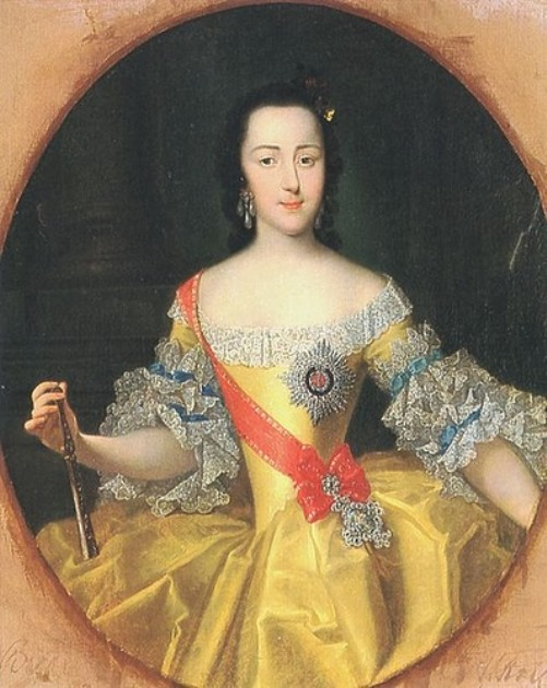 Empress Catherine The Great by George Christoph Grooth