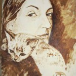 Self-portrait, Olga Lavrova, Saint-Petersburg, Russia