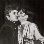 Mikhail Baryshnikov and Liza Minnelli