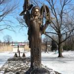 Tatyana Snezhina 1972-1995. Ukraine, Lugansk, in 2010, the residents and the authorities opened bronze monument to Tatyana Snezhina. The author of sculpture E. Chumak