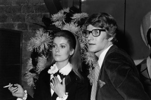 Catherine Deneuve Yves Saint-Laurent's muse