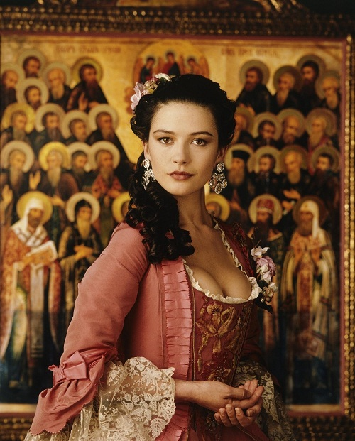 Catherine the Great, 1996 film. The role of Catherine was played by Catherine Zeta-Jones