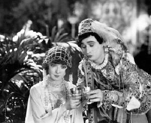 Beautiful actress of silent movie era Colleen Moore