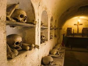 Bones of Crypt, Rome