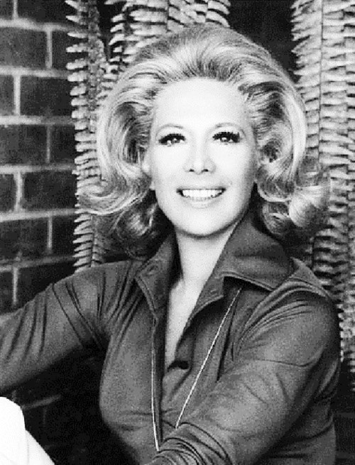 Hollywood actress and singer Dinah Shore