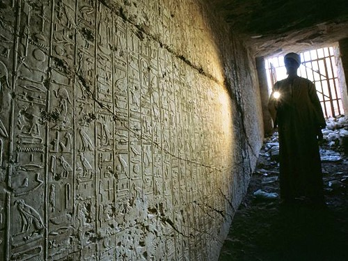 Most mysterious crypts. Tomb of Ramses II, Egypt