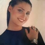 Beautiful model, the winner of Miss Russia 1996 Alexandra Petrova