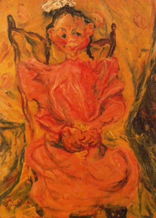 Painting by Chaim Soutine