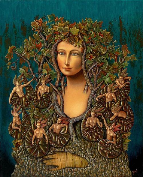 Paintings by Canadian artist Dasil David Silva