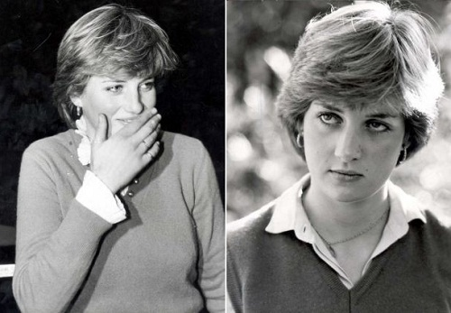Diana Spencer and Adam Russell in Not to be published photo. Lady Diana Spencer before marriage