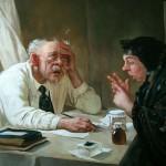 Doctors in paintings