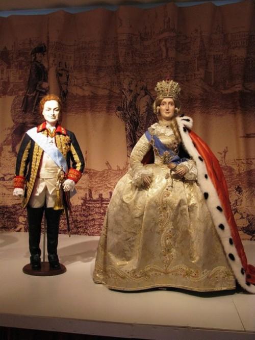 Historical dolls of Olina Ventsel
