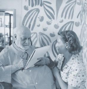Lydia Delectorskaya and Matisse