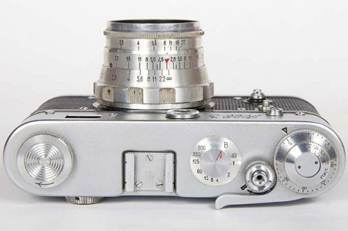 Cameras made in the USSR