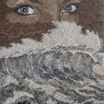 Paintings of sea sand and shells by Svetlana Ivanchenko
