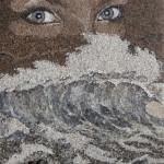 Paintings of sea sand and shells by Svetlana Ivanchenko