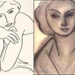 Portrait of Lydia Delectorskaya by Henri Matisse