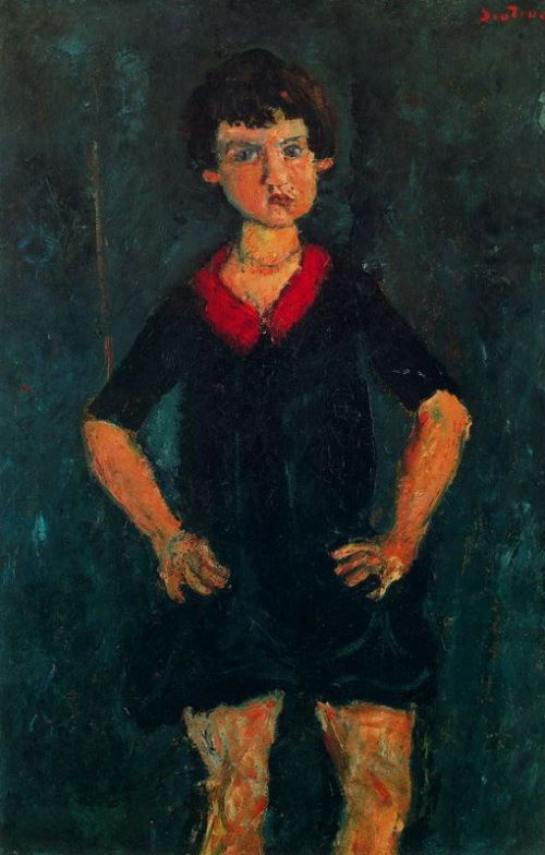 Russian expressionist painter Chaim Soutine