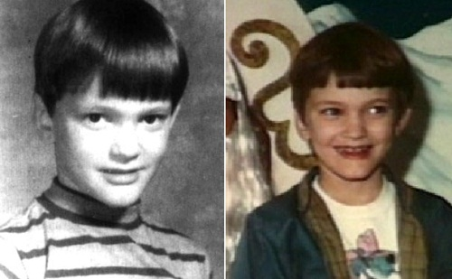 Quentin Tarantino as a child