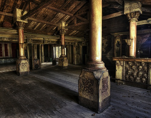 Spukhuys Abandoned restaurant