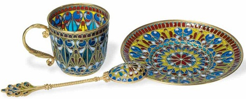 Russian Stained Glass Enameling