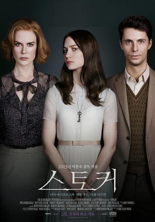 Stoker 2013 psychological thriller