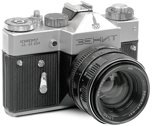 Cameras made in the USSR. Zenit-TTL