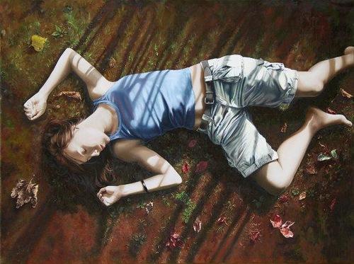 paintings by Lorella Paleni