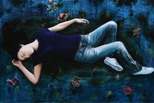 paintings by Lorella Paleni