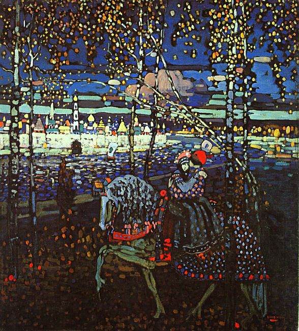 Wassily Kandinsky and his women