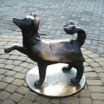 monument to a dog Kashtanka
