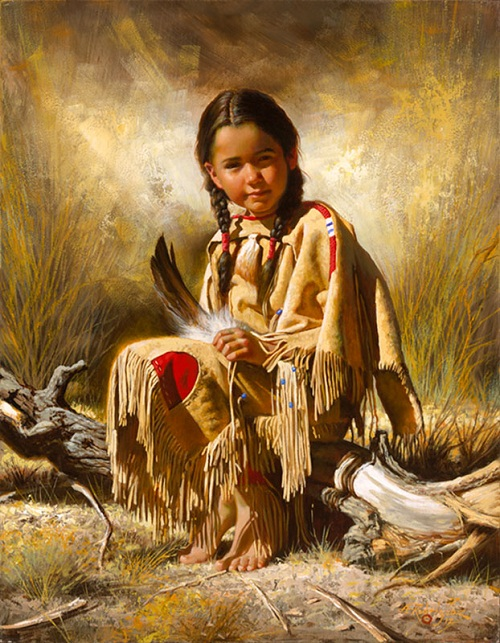 Native Americans by Alfredo Rodriguez