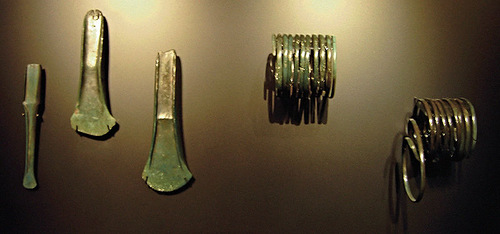 there were also other findings – swords, axeheads, chisel and spiral armbands.