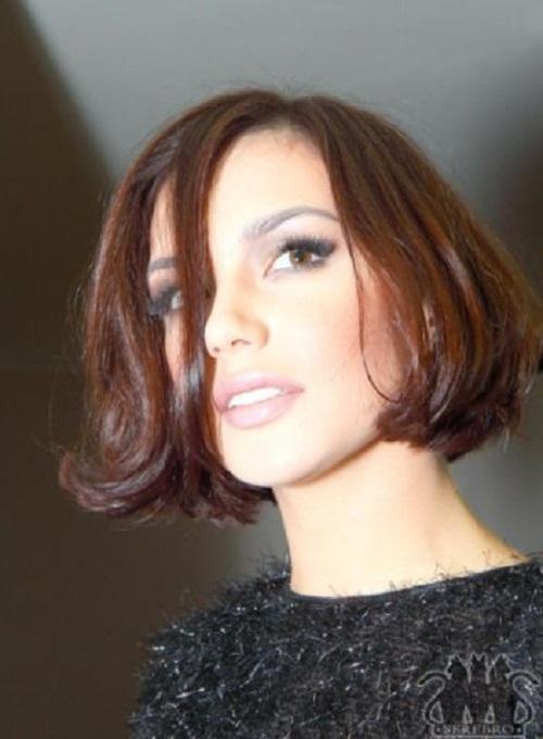 Beautiful pop singer Olga Seryabkina