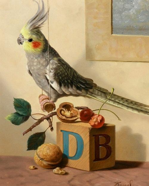 Painting by Kamil Bekshev, Kazakhstan