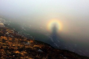 Ghost in the mountains, photography by Mikhail Baevsky