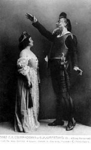 Chaliapin in the opera Don Quixote
