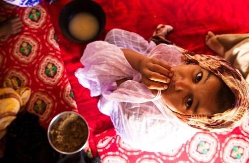 Force-feeding farm for girls in Mauritania