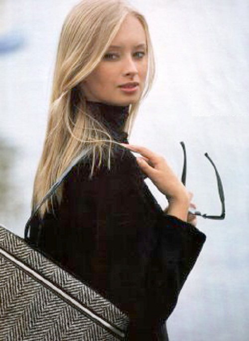 Marina Kotashenko as a model