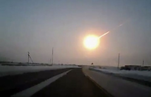A terrifying meteorite left a thousand people injured, buildings devastated and the mobile network wiped out when it hit Russia on February 15, 2013