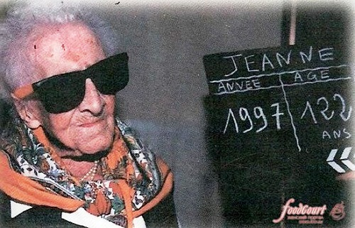 Jeanne Calment world record