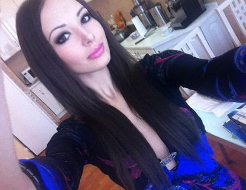 Beautiful Russian model Julia Adasheva