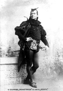 Chaliapin in the opera Faust