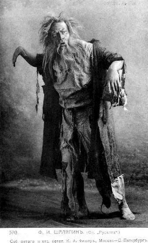 Chaliapin in the opera Rusalka